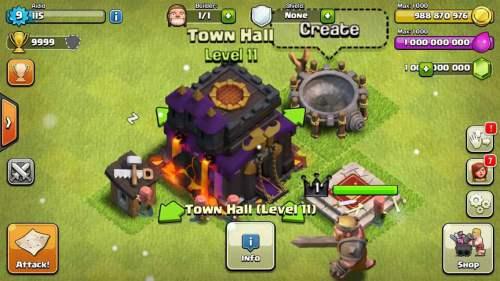 Clash of clans mod apk working