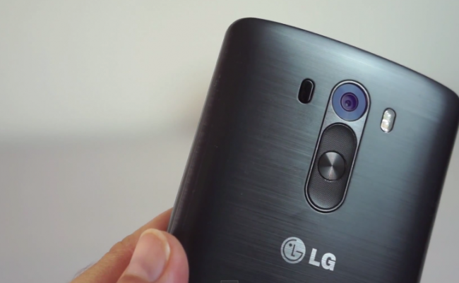 LG G4 Note: a new filtered image shows the back and also the 'stylus'
