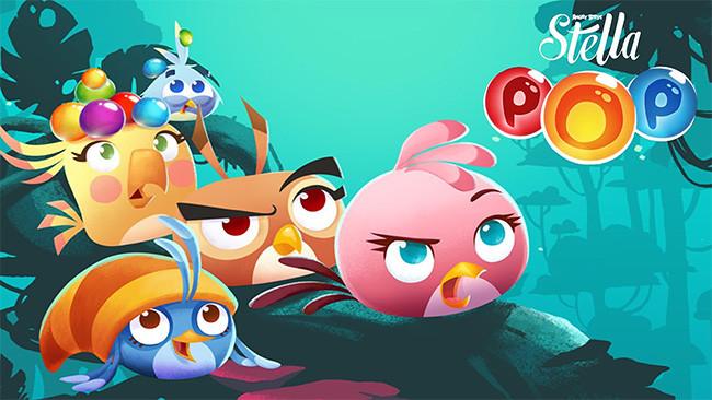 Angry Birds Stella POP v1.0 Apk