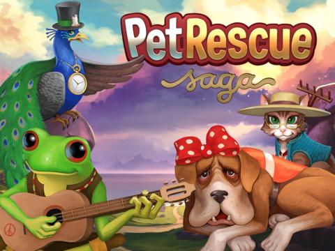 Pet Rescue Saga v1.39.3 Mod Apk [ Unlimited Lives, 100+ moves]