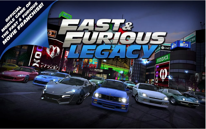 Fast & Furious: Legacy v1.0.2 Mod Apk with Unlimited money.