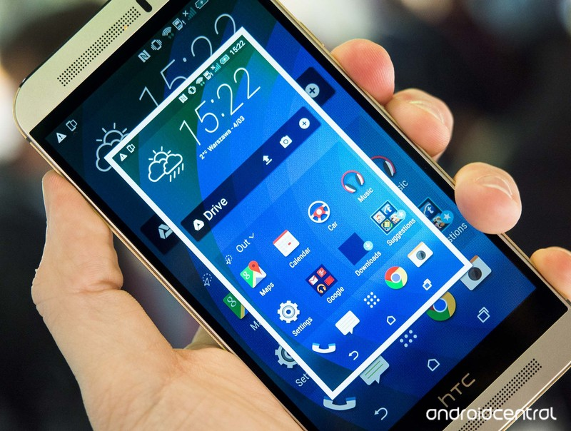 Take a ScreenShot on HTC One M9. [How To]