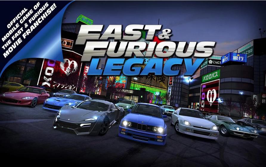 Fast & Furious: Legacy v1.0.0 Mod Apk +Data