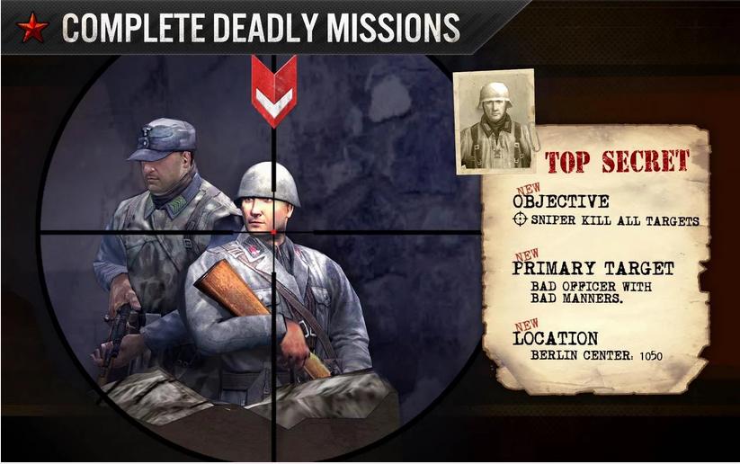 FRONTLINE COMMANDO WW2 MOD APK+DATA