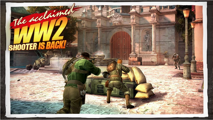 Brothers in Arms 3 MOD APK 1.2.0p