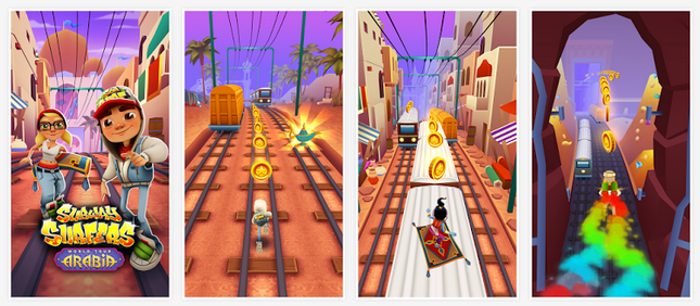 Subway Surfers Arabia