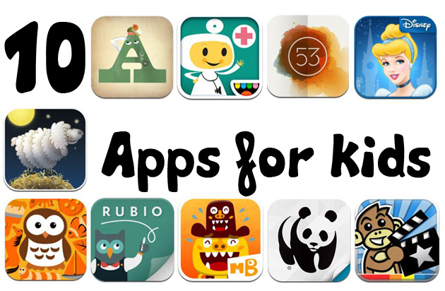 Best iPhone 6 Apps for Kids in 2015.