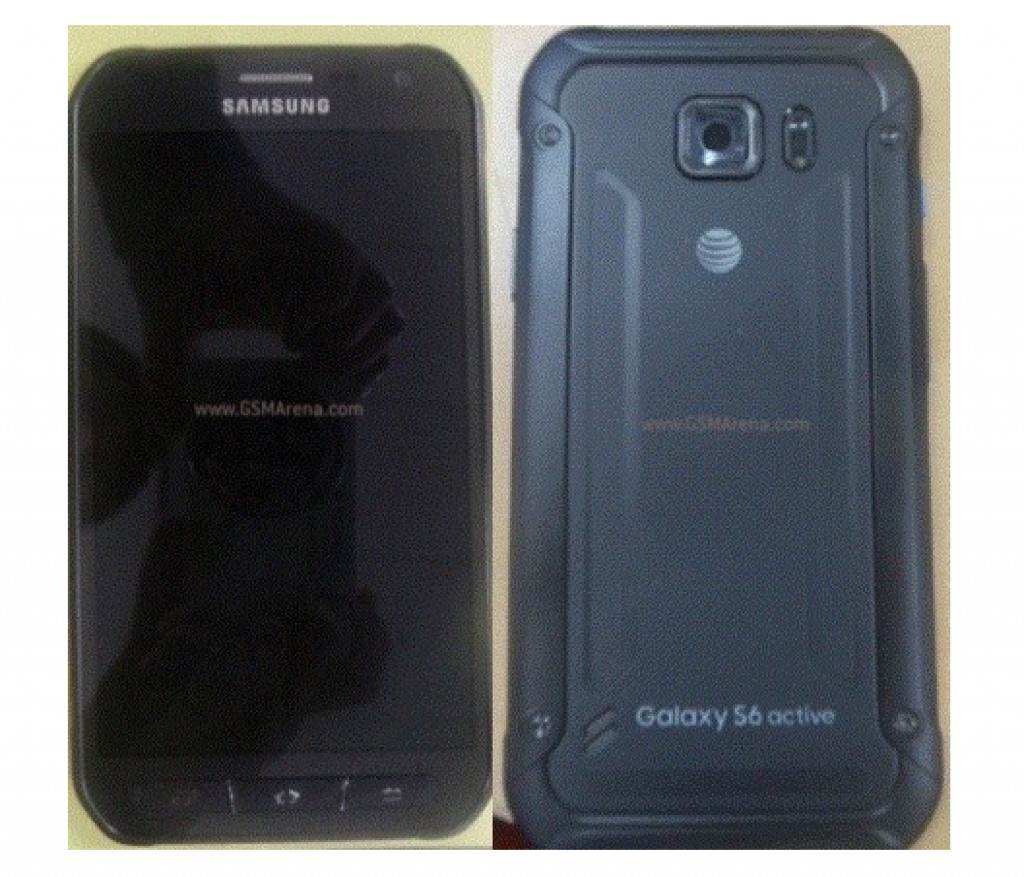Alleged Press Renders of Samsung Galaxy S6 Active Leak Showing Color Scheme 1