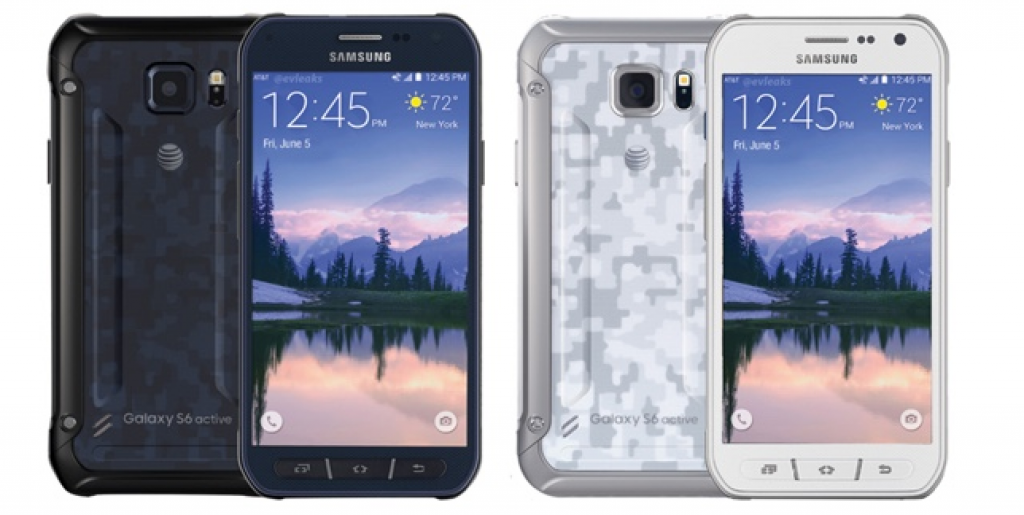 Alleged Press Renders of Samsung Galaxy S6 Active Leak Showing Color Scheme