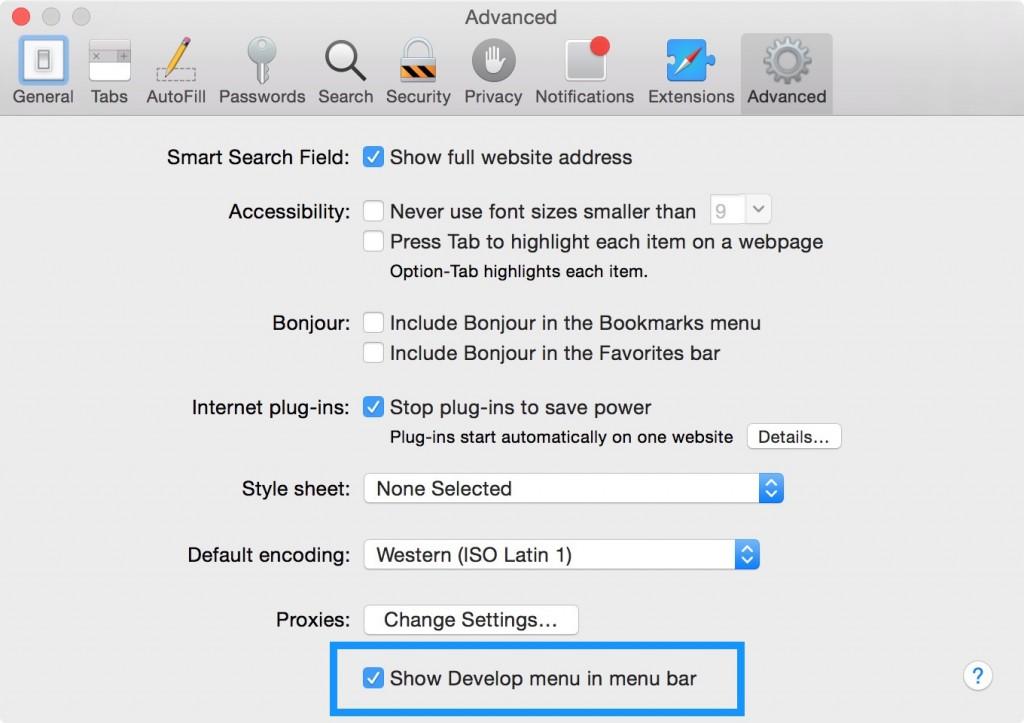 Enable-Develop-mode-Safari