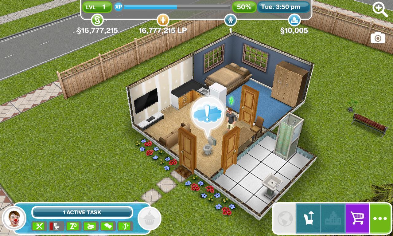 Get Simoleons Sims Freeplay