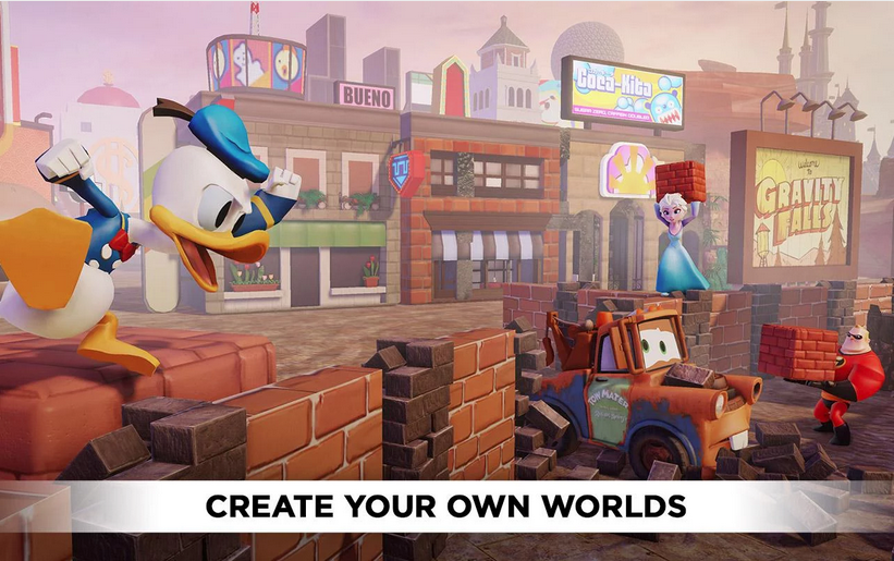 Disney Infinity: Toy Box 2.0 v1.0 Mod Apk