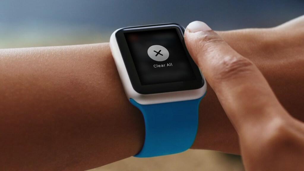 Clear Notification Apple Watch