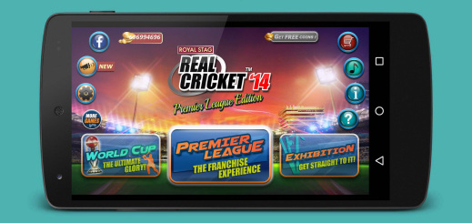 Real Cricket 14 v2.1.7 Mod Apk+Data