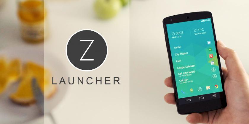 Download Z Launcher 1.2.10-Beta Apk.
