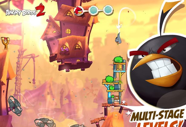 Download Angry Birds 2 for PC running Windows.