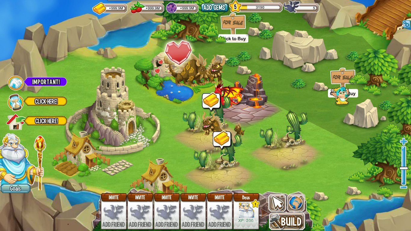 Download Dragon City 3.6 Mod APK loaded with Unlimited Money.