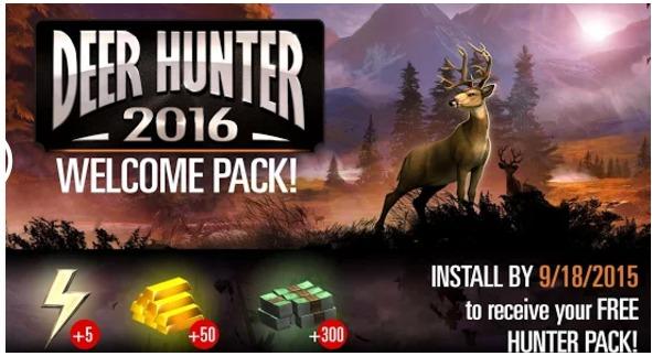 deer hunter 2016 hack apk download