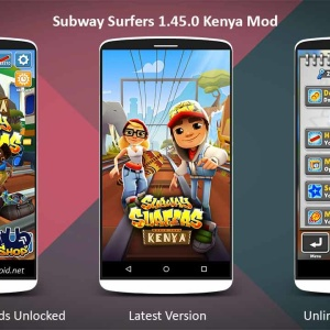 Subway Surfers Kenya 1.45.0 Mod Apk (Unlimited Coins and Keys)