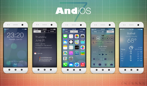 Download iOS 9 Theme for Android devices.