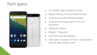 Nexus 6P Comes with Uni Metal Body and 5.7 inch display [ Full specs details]