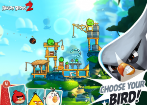 Angry Birds 2 v2.2.1 Mod Apk loaded with unlimited crystals.