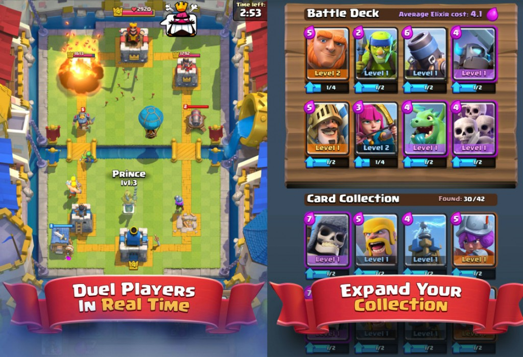 Download and Install Clash Royale v1.1.1 Mod Apk on your Android: