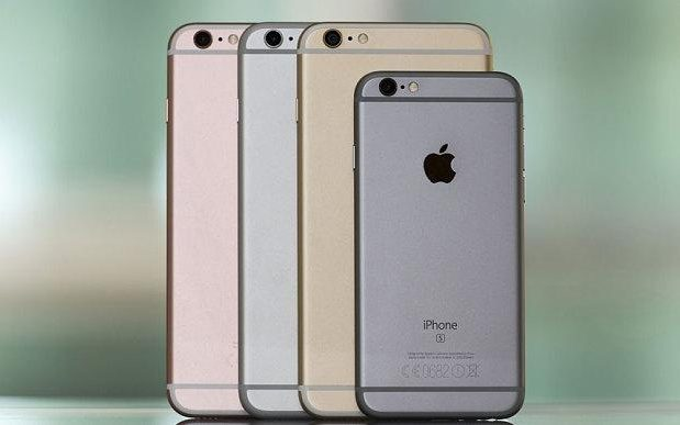 IPhone 6s, plus battery rated 2750 mAH, 5 smaller capacity than