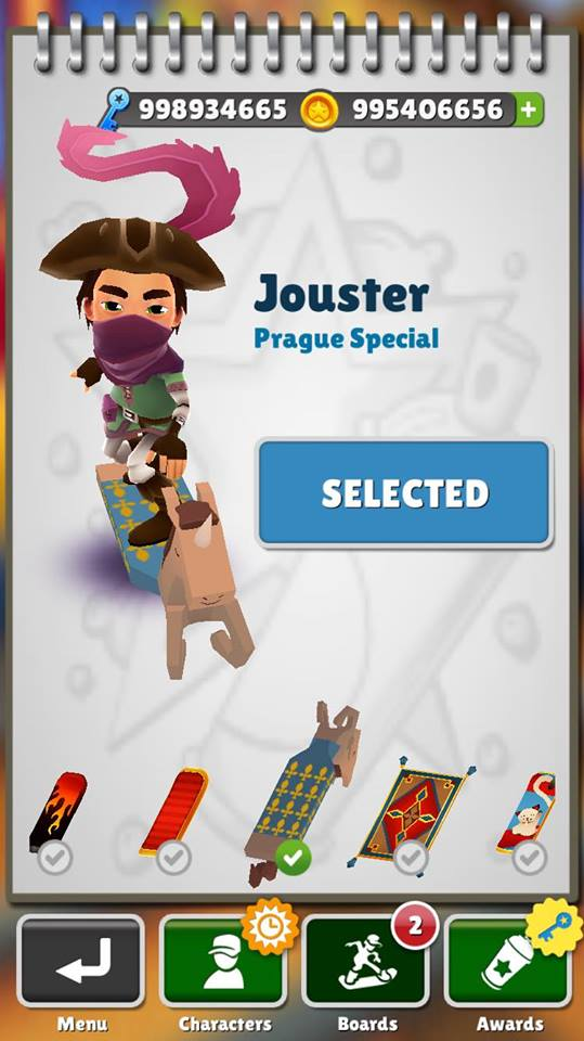these steps to get this modded Subway Surfers Peru 1.55.0 Mod .apk