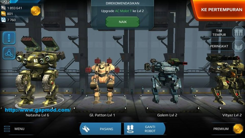 Walking War Robots v1.0.1 Apk + Data Android gapmod.com_1