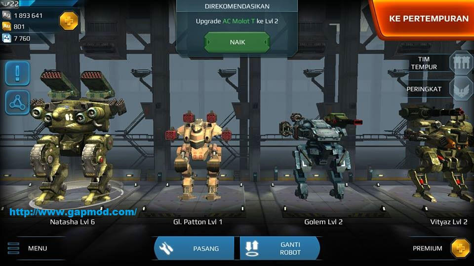 Walking War Robots 1.4.0 Mod Apk With unlimited money hack