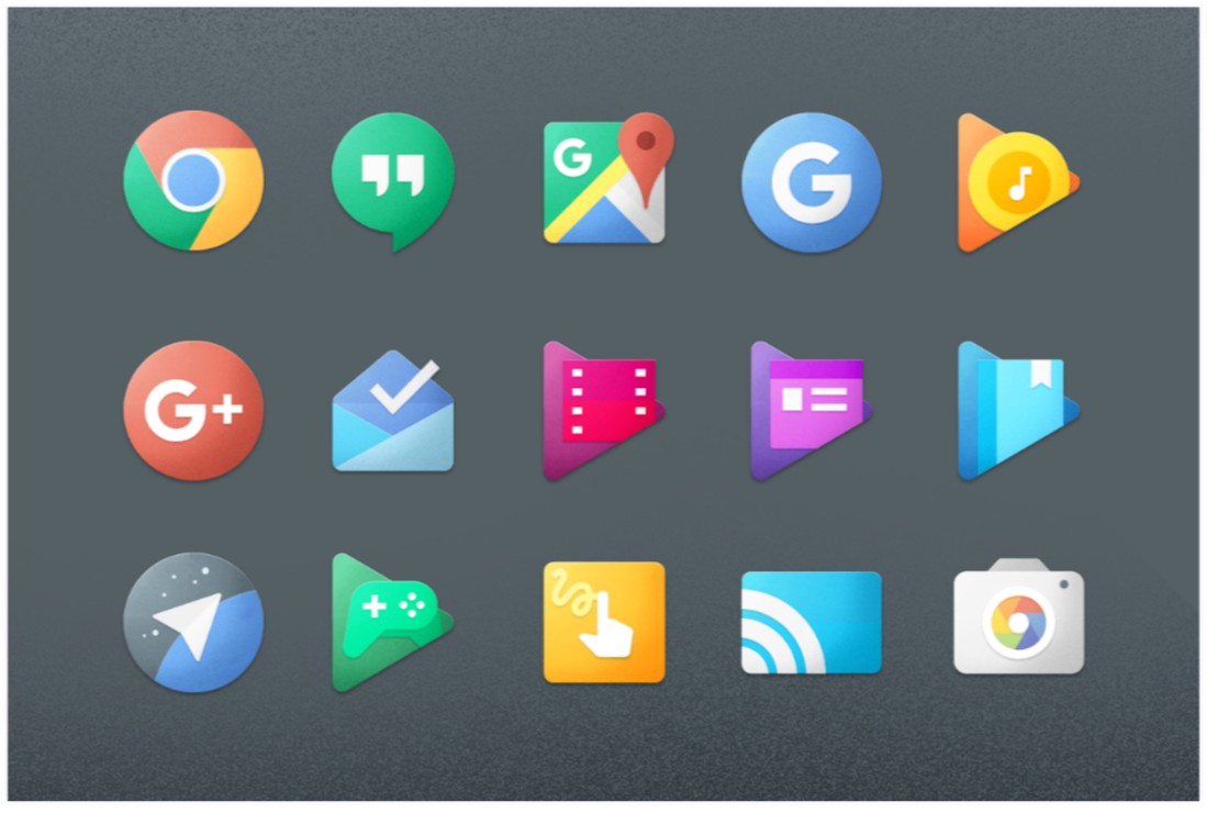 Chromatin UI Icon Pack 11