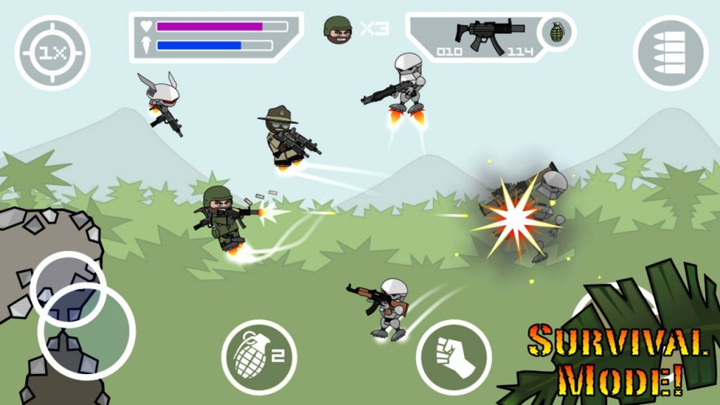 Download and Install Doodle Army 2 : Mini Militia 2.2.27 Mod Apk : Stickman With Weapons