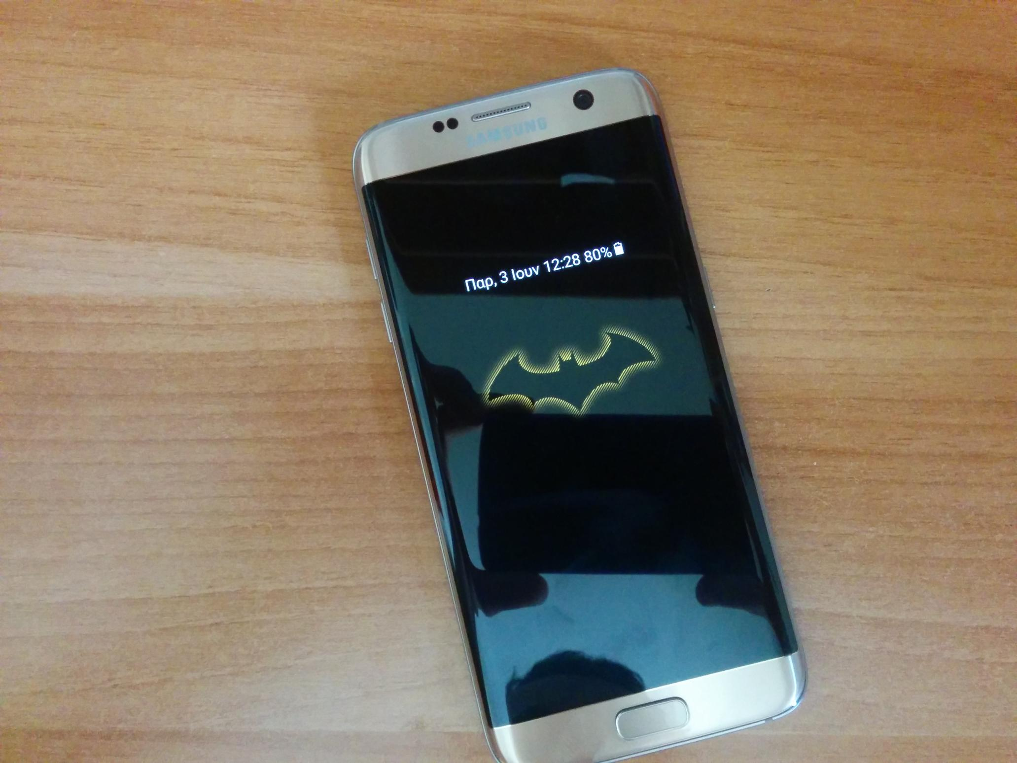 Download Samsung Galaxy S7 Edge Injustice Edition Theme to