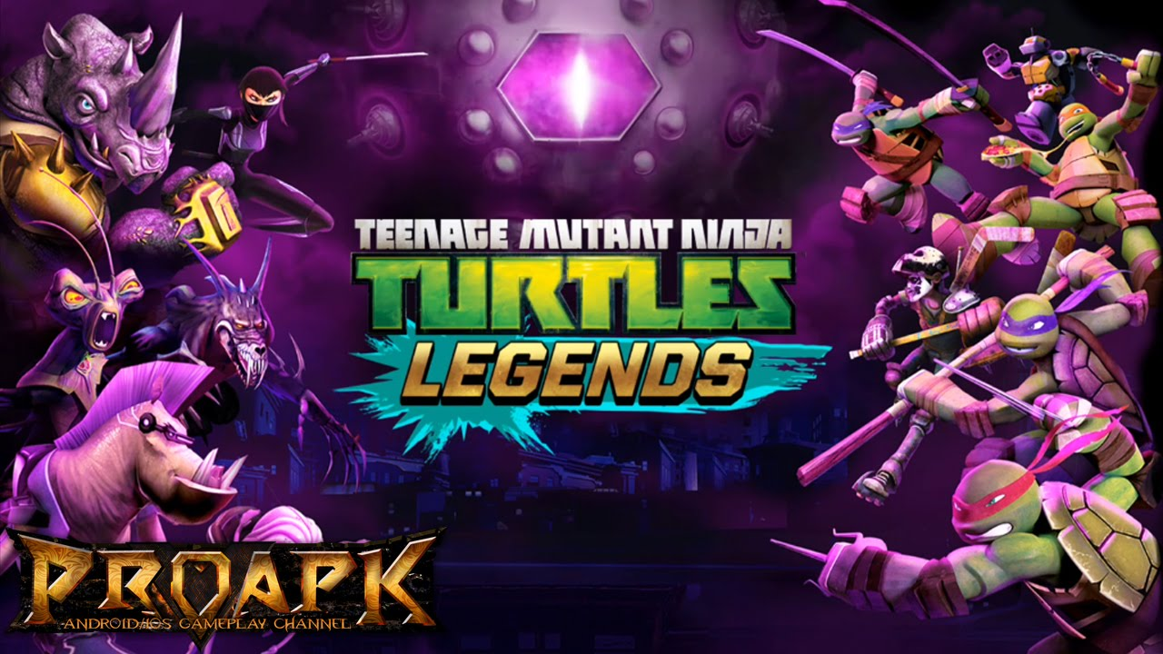 Ninja Turtles Legends Mod Apk