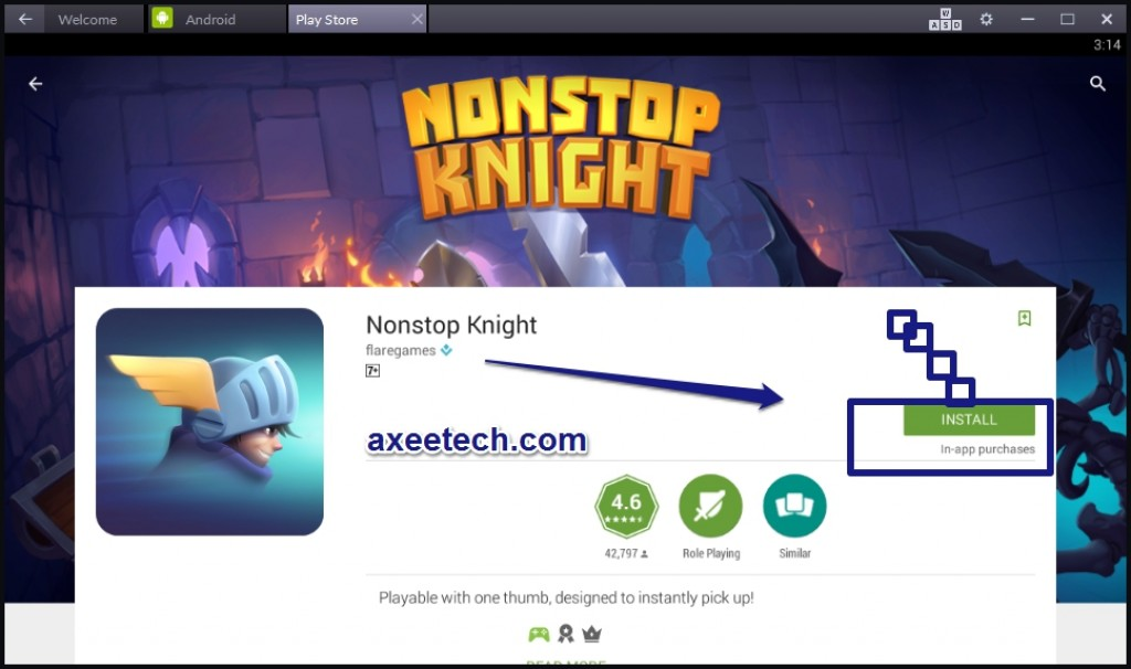 Nonstop-Knight-for-PC-Windows10