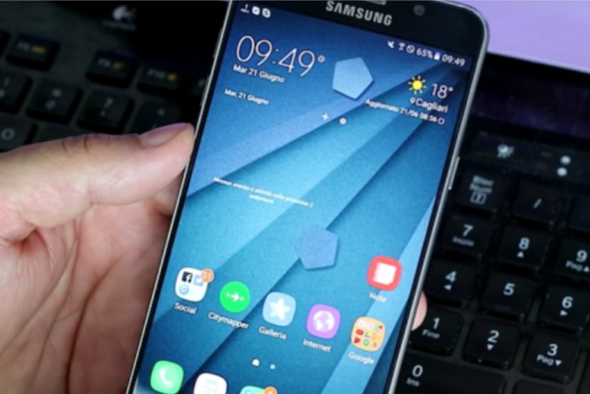 Samsung Galaxy Note 7 new TouchWiz