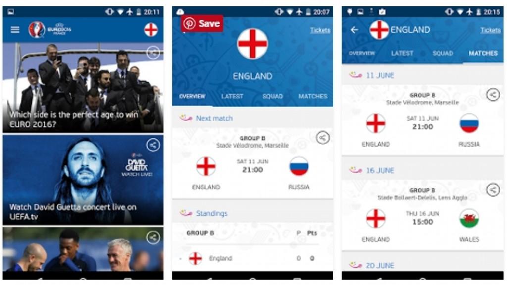 UEFA EURO 2016 Official Apk