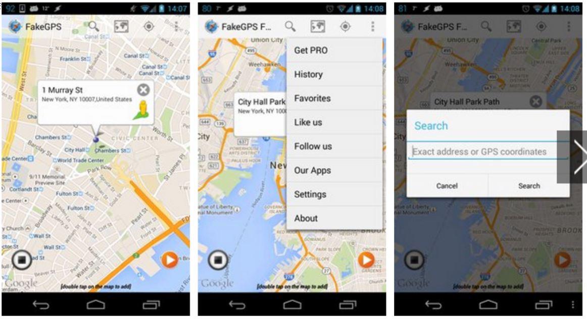Fake GPS Location Spoofer Free APK