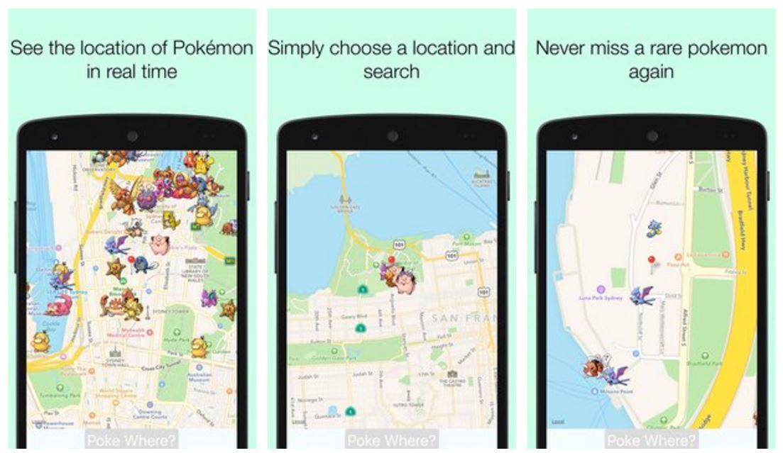 PokeWhere 1.1.3 Apk - Aplikasi Untuk Mencari Pokemon GO