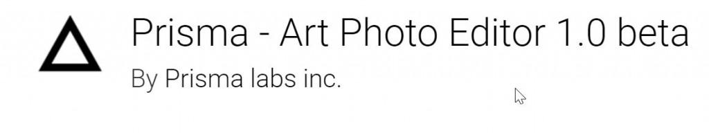 Prisma Apk Android