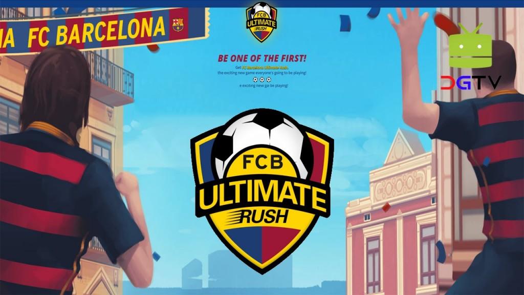 FC Barcelona Ultimate Rush Hack mod apk