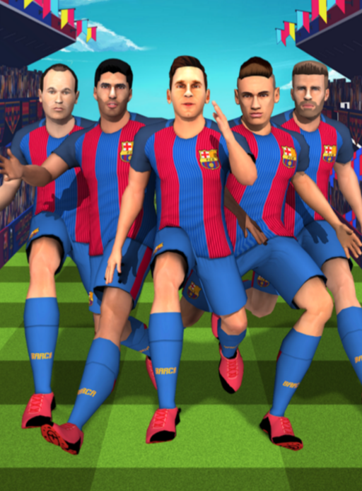 FC Barcelona Ultimate Rush Hack mod apk app