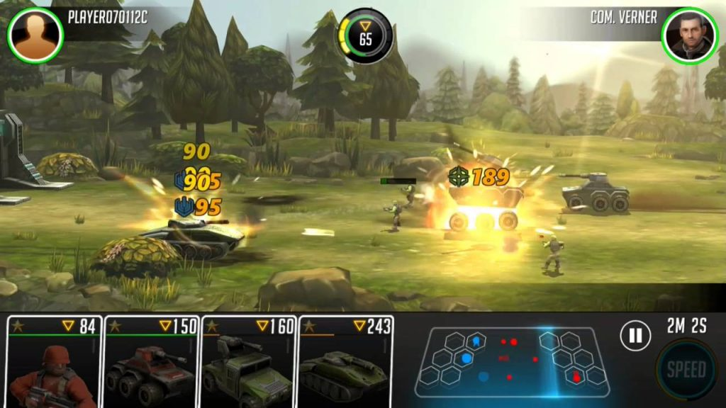 League of War Mercenaries mod apk hack