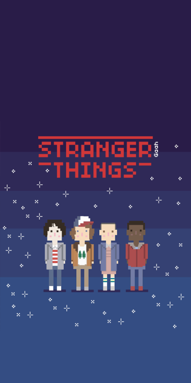 Download Stranger Things Wallpapers And Lockscreens For