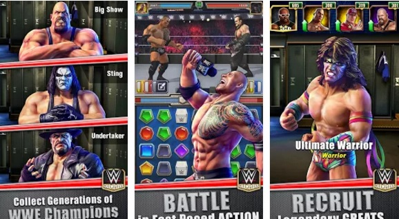 wwe champions free puzzle rpg how to get xp fast