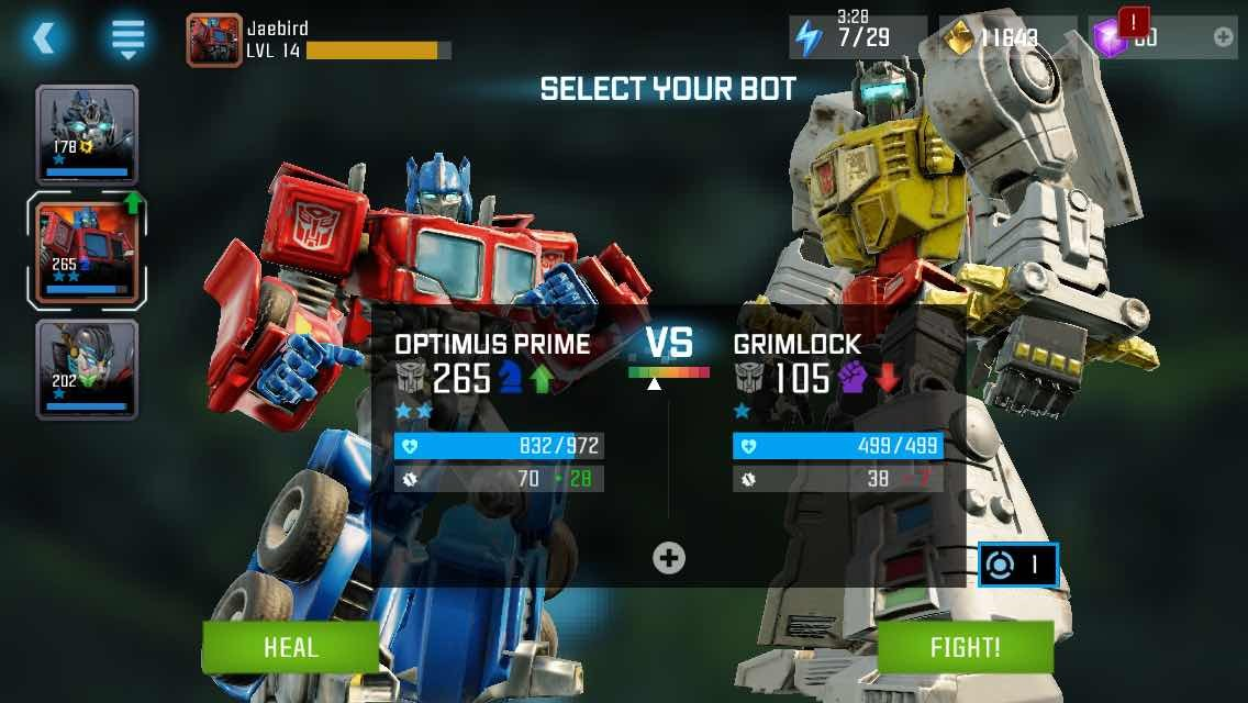 transformers forged to fight apk download for android
