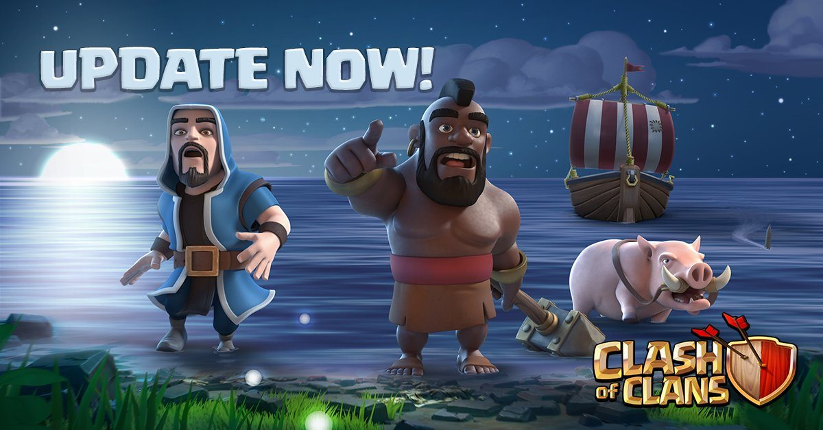 Clash Of Clans v .. Mod Apk With unlimited coins and gems