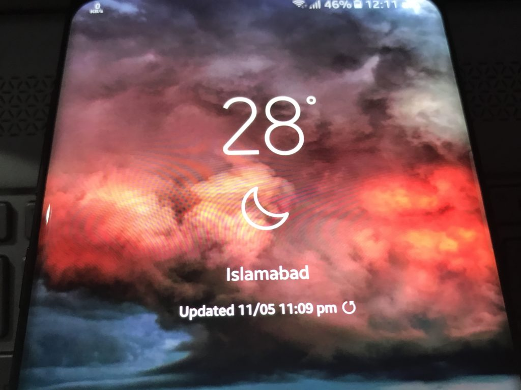 how to download samsung s8 lockscreen weather