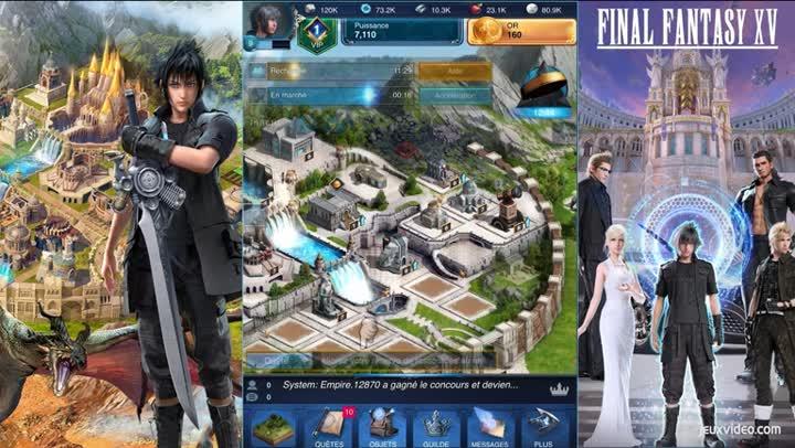 Final Fantasy XV: A New Empire mod apk hack